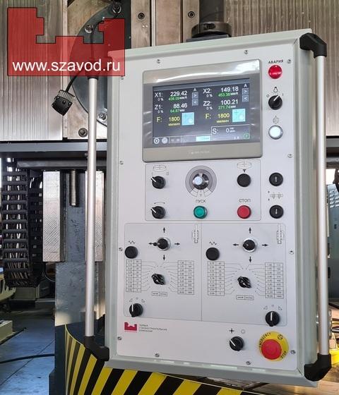 Оперативная система управления токарно-карусельным станком 1л532